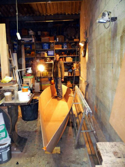 In our case the thickness of the plywood panels is 5mm thick for the ...