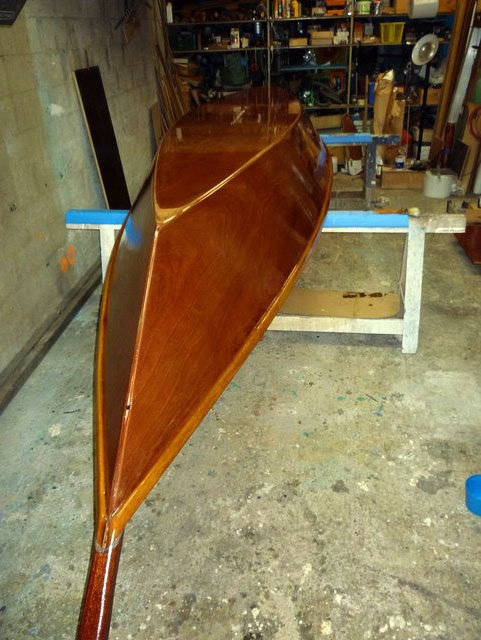 Stratification of the woodenboat - epoxy, fiberglass and marine plywood : DIY Small wooden boat ...