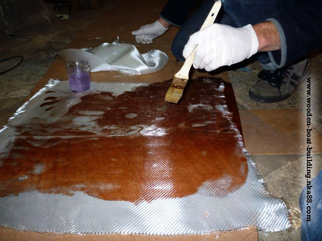 ... epoxy resin : DIY Small wooden boat free plans and stich and glue