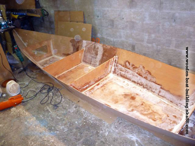 Stitch and glue plywood boat plans | boat plans self project